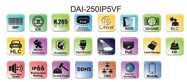 DAI-250IP5VF